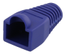 DELTACO RJ45 plug cover, for cables with 5,6mm in diameter, blue