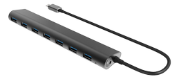 WINSTARS 7 Port USB 3.0 Type C HUB