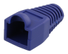 DELTACO RJ45 plug cover, for cables with 6,8mm in diameter, blue