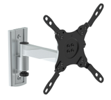 "EPZI Aluminum Articulating Wall Mount, 1 led, 13""-42"", Lock func, Silver"