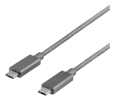 USB 3.1 CM to CM 1m Space Gray