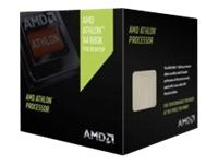 AMD Athlon X4 880K Black Edition, S-FM2+ Prosessor,  4.0GHz, Quad Core, 4MB, 125W, 28nm, inkl. kjøler (AD880KXBJCSBX)