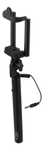 STREETZ wired pocket sized selfiestick,  iOS/ Android,  3,5mm. black