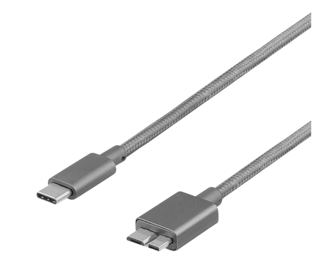 USB 3.1 CM to Micro 1m Space Gray
