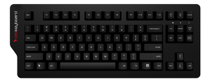 Das Keyboard 4C Professional,  Greetech Brown, Nordisk lay, USB, svart
