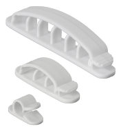 Prime Cable Organizer White
