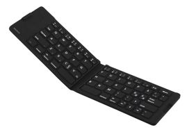 wireless mini keyboard, foldable, Bluetooth,  waterproof IPX5