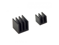 RASPBERRY PI Rasberry Pi Heat Sink Kit, Black