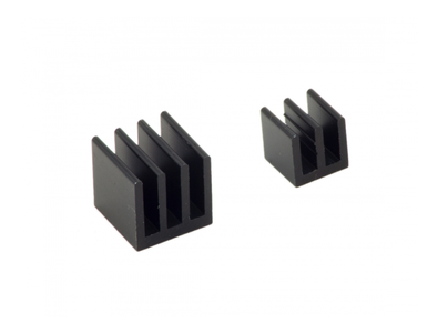 RASPBERRY PI Rasberry Pi Heat Sink Kit, Black (MMP-0139)