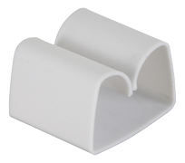 DELTACO Cord Tabs with Self Adhesive Tape White