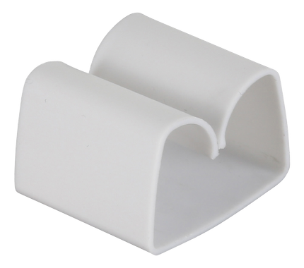 Cord Tabs with Self Adhesive Tape White