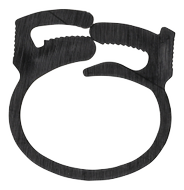 cable clamp, 17, 5x22mm,  reusable, 6-pack, black
