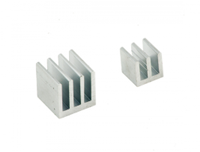 RASPBERRY PI ModMyPi, heatsinks for Pi, 2 parts, silver