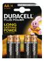 DURACELL Plus Power alkaliskt batteri, AA (LR06), 1,5V, 4-pack