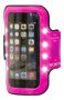 WOWOW Smartphone Armband 3.0 with 8 LED Pink