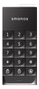 SMANOS Water-proof Wireless Keypad, IP66, 868/ 915MHz,  svart