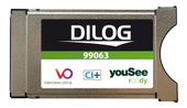 DILOG CA module for YouSee in Denmark, CI+, HD
