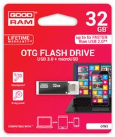 USB-Stick 32GB TWIN m. OTG USB 3.0