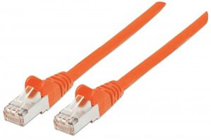 Patchkabel RJ45-Male/ RJ45-Male,  2.0 m, Orange