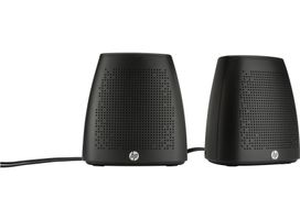 HP S3100 Stereo Speakers black