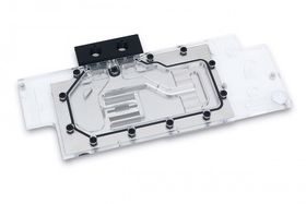EK Water Blocks EKWB EK-FC1080 GTX Nickel GPU Block Full-Cover GPU Water Block, for GeForce GTX 1080 Founders Edition, Nickel (3831109831298)