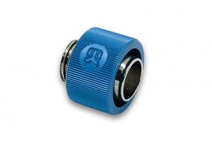EKWB EK-ACF 12/16mm - Blue Fitting Thread: G1/4, Tubes: 11.1/ 15.9mm - 12/16mm, Height: 15.6mm