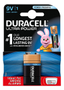 DURACELL Ultra Power, 9V/6LR61 batteri, alkaliskt, 1-pack