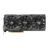 ASUS GeForce GTX 1060 ROG Strix Gaming Grafikkort,  PCI-Express 3.0, 6GB GDDR5, DL-DVI-D, 2xHDMI 2.0, 2x DP, OC- version (STRIX-GTX1060-O6G-GAMING)