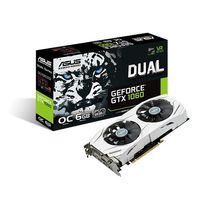 GeForce GTX 1060 DUAL OC Grafikkort,  PCI-Express 3.0, 6GB GDDR5, DL-DVI-D, 2x HDMI 2.0, 2x DisplayPort