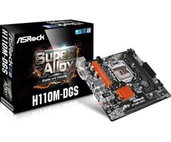 H110M-DGS H110, Mainboard µATX onboard, 1x PCIe x16 1151 Intel® H110 Express