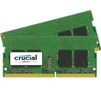 CRUCIAL 16GB KIT 8GBX2 DDR4 2133 MT/S PC4-17000 CL15 SRX8UNB DIMM 260P (CT2K8G4SFS8213)