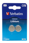 VERBATIM Lithium Cell CR2032_ 2 pack (49936)