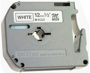 BROTHER MK231SBZ P-TOUCH TAPE 12MM