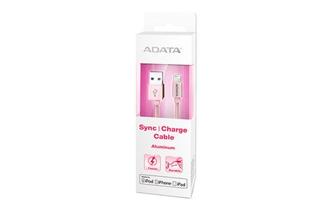 A-DATA ADATA  Lightning and USB / 2-in-1: Lightning,  microUSB, USB (AMFIAL-100CMK-CRG)