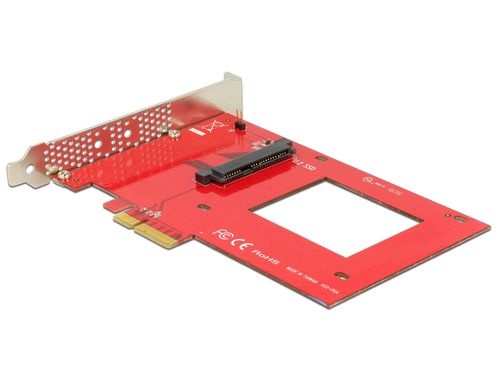 PCI Express x4 Card >1 x internal U.2 NVMe SFF-8639
