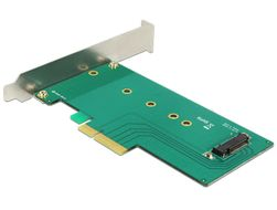 PCI Express x4 Card >1 x internal NVMe M.2 key M 110 mm Low Profile Fo