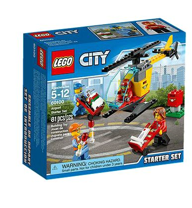 City 60100 Airport Starter Set