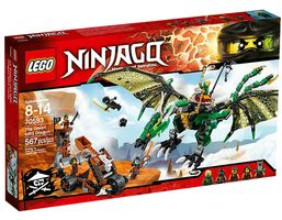 NINJAGO 70593 The Green NRG Dragon