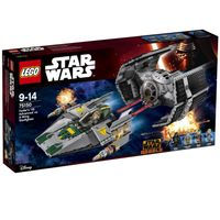 Star Wars 75150 Vader's TIE Advanced vs. A-Wing Starfighter