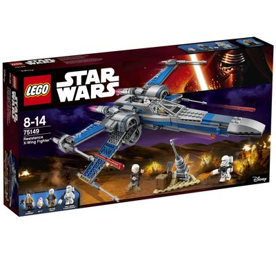 Star Wars 75149 Resistance X-Wing Fighter