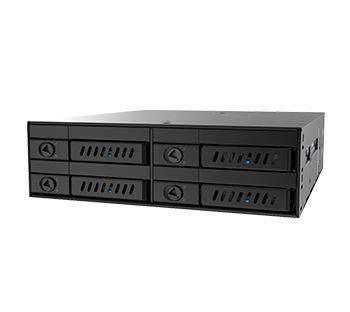 "CMR-425 Backplane Solution 4x 2.5"" HDD/SSD (7~9,5mm) mounting using one 5.25"" slot, Hot-Swap"