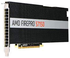 FIREPRO S7150 8GB GDDR5 PCIE 3.0 16X ACTIVE IN
