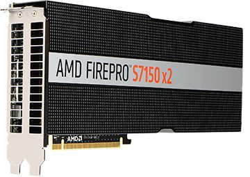 AMD FIREPRO S7150X2 16GB GDDR5 PCIE 3.0 16X PASSIVE             IN CTLR (100-505722)