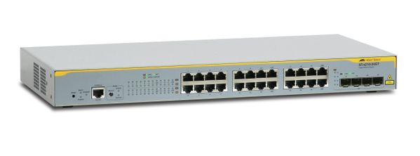 L2+ SWITCH WITH 20 X 10/ 100/ 100 AND 4 100/ 1000TX / SFP COMBO POR IN
