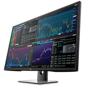 Dell monitor P4317Q 42,5'' UHD 4K 3840x2160 LED VGA 2xHDMI DP 4xUSB Black 3YPES