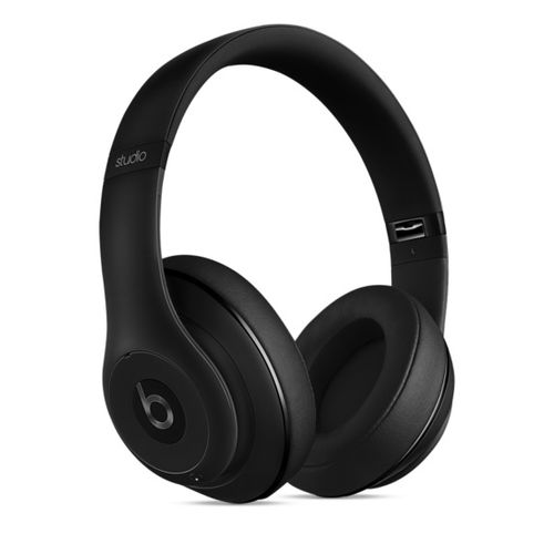 APPLE Beats Studio Wire Headphones-Matt Black (MHAJ2ZM/B)