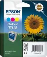 T018 3 COLOUR INK CARTRIDGE W AM T