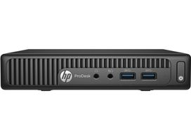 HP PRODESK 400 G2 MINI CI5-6500T Mini/ Intel CI5-6500T/  8 GB RAM/ 256 GB - SSD HDD/ Intel HD Graphics/ Win 10 Pro 64-Bit/ MCR: nein (W4A88EA#ABD)