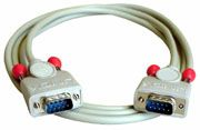 RS232 Kabel 9p. SubD St/St 2m
