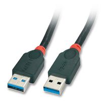 LINDY USB 3.0 Kabel A/A schw. 3m A-Stecker an A-Stecker (31983)